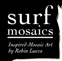 Surf Mosaics, inspired mosaic art